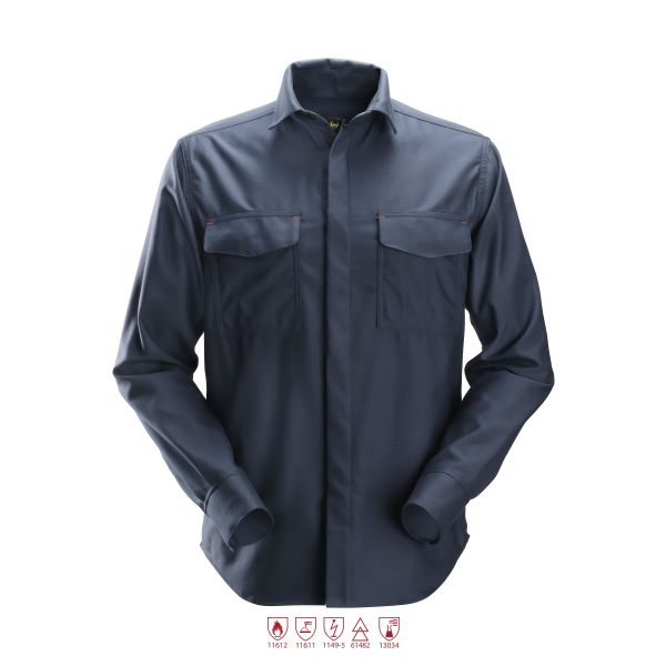 Snickers 8564 ProtecWork Sveiseskjorte marineblå XS