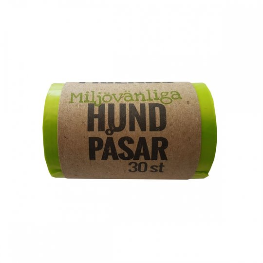 FourFriends Dog Hundpåsar Miljövänliga 30-pack (Grön)
