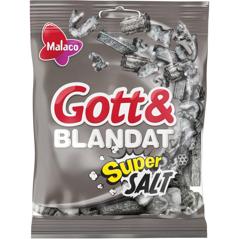 "Gott & Blandat ""Supersuolainen"" 130g - 50% alennus"