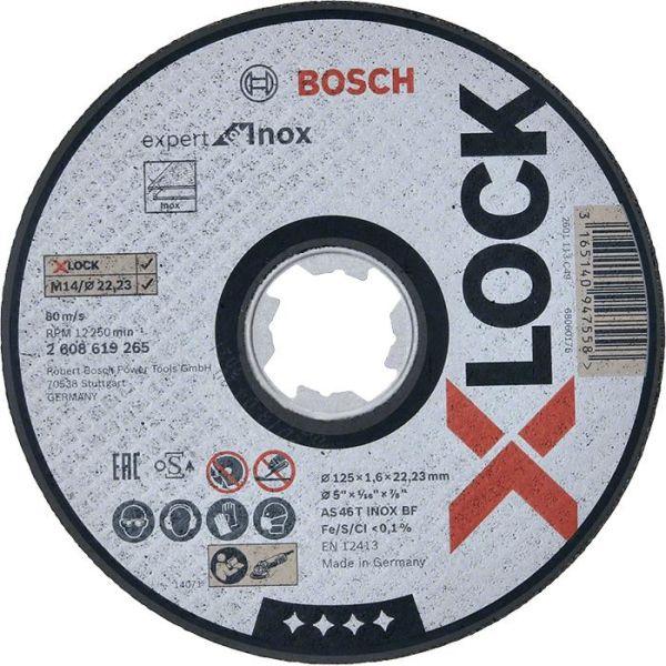 Bosch Expert for Inox Kappskive X-LOCK 115 × 1,6 × 22,23 mm