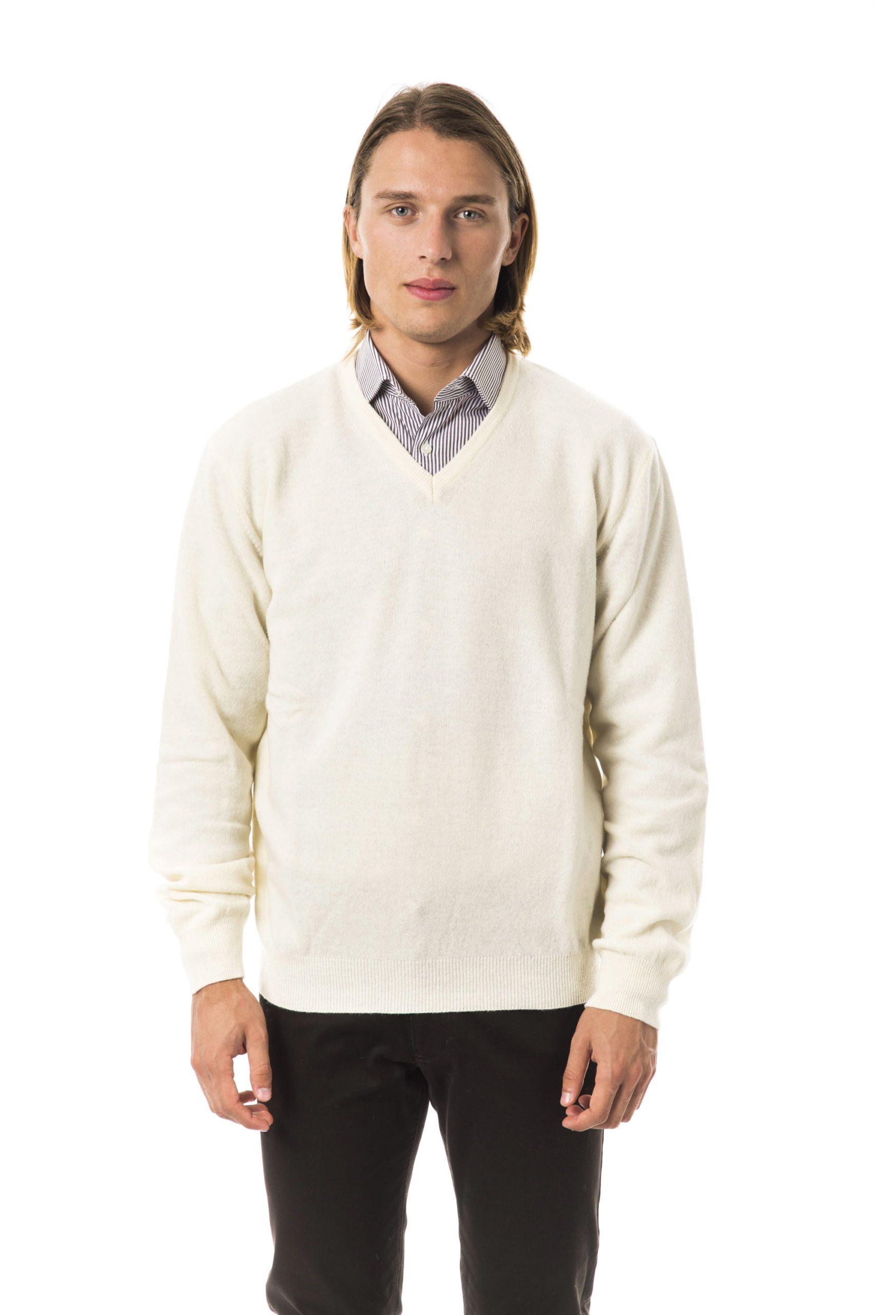 BYBLOS Men's Panna Sweater White BY817126 - L