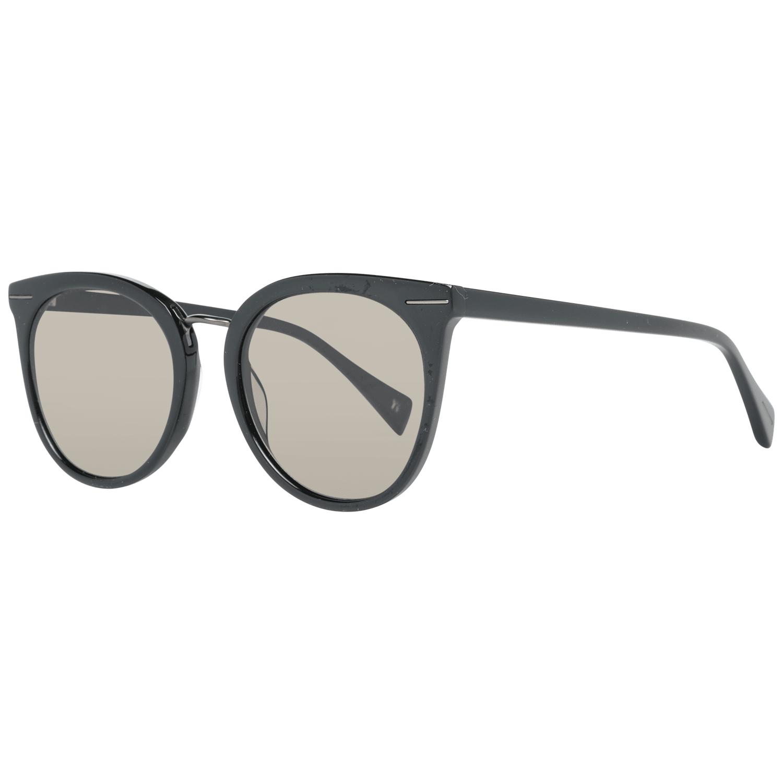 Yohji Yamamoto Women's Sunglasses Black YY5023 54462