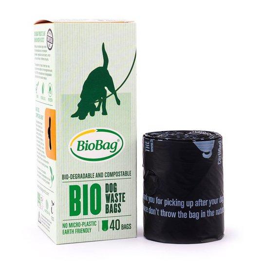 BioBag Nedbrytbar Hundpåse på rulle, 40-pack