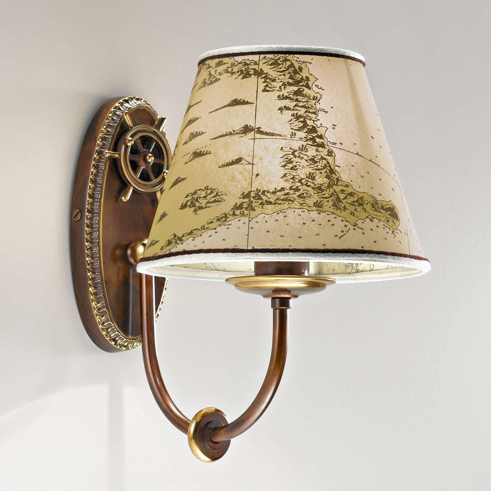 Merellinen seinävalaisin Nautica, 1 lamppu 25 cm