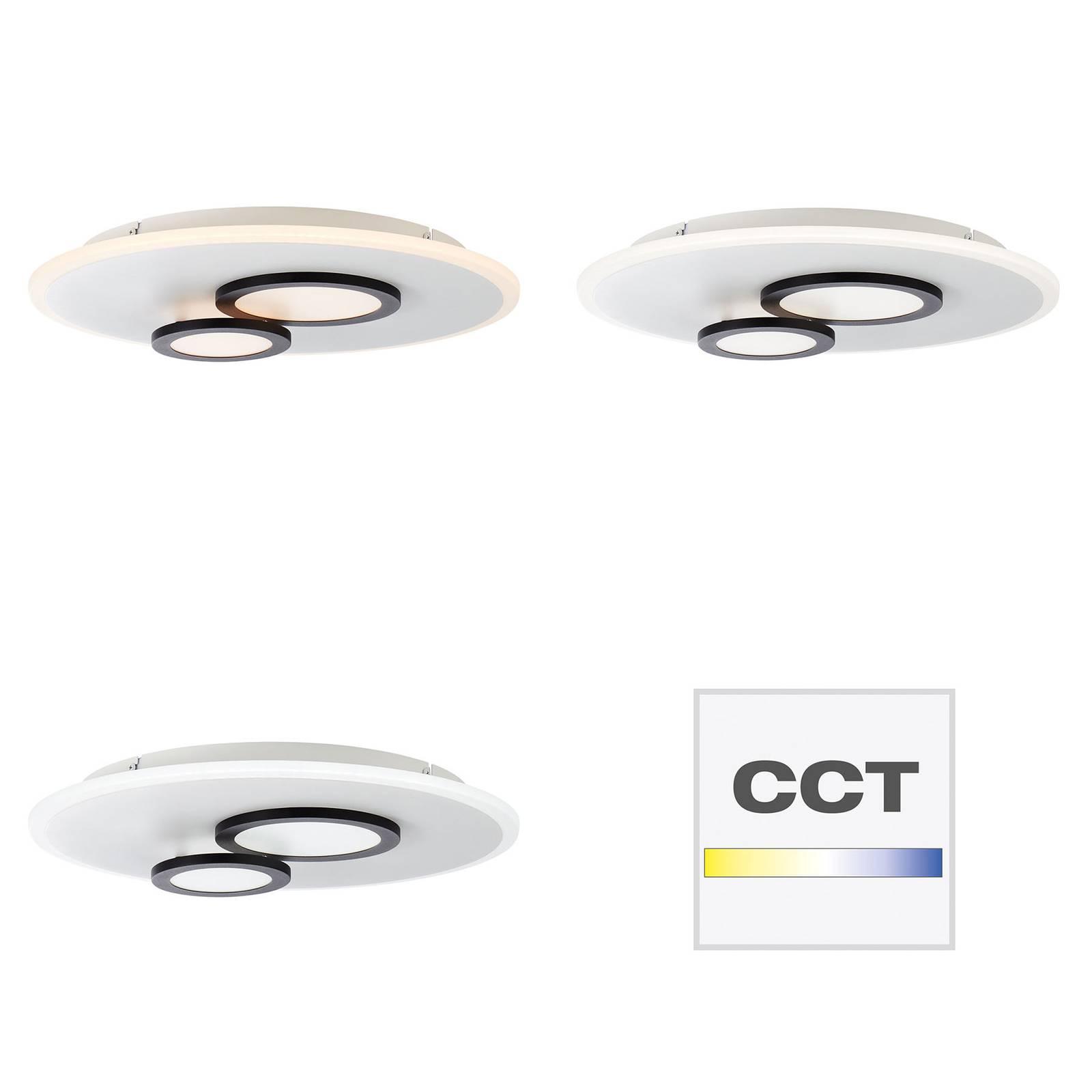 AEG Olia-LED-kattovalaisin, pyöreä, CCT, himmennys