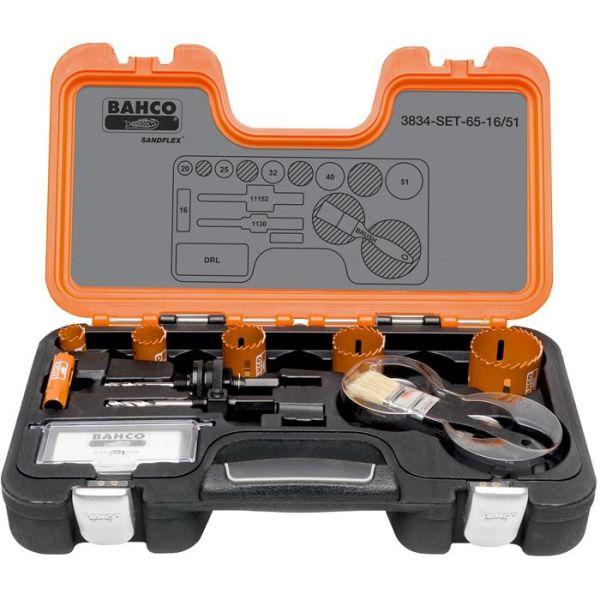Bahco 3834-SET-65-16/51 Hullsagsett