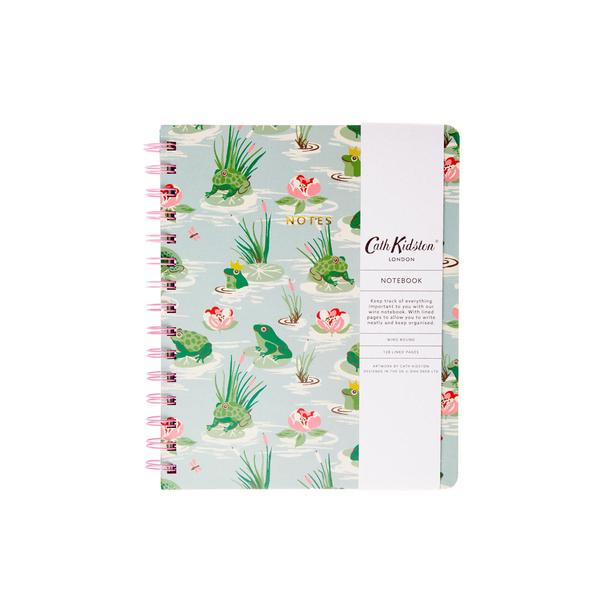 Autumn Frogs Wiro Notebook A5ish