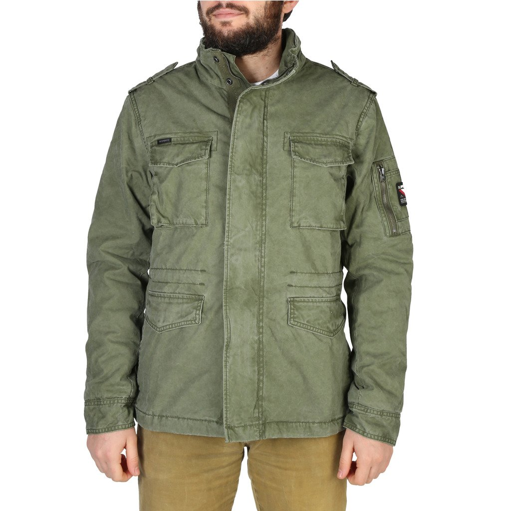 Superdry Men's Jacket Various Colours M5010351A - green S