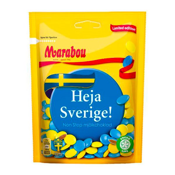 Marabou Non Stop Heja Sverige Limited Edition - 225 gram