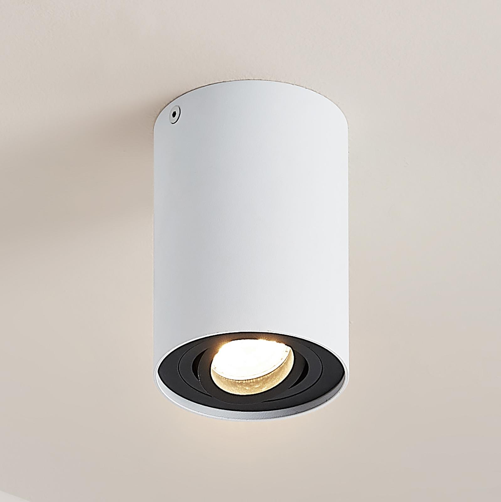 Arcchio Hermalina -kattovalaisin, pyöreä, 1-lamp.