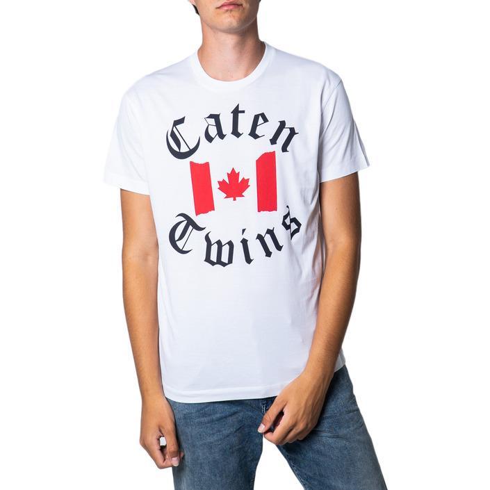 Dsquared Men's T-Shirt White 175502 - white M