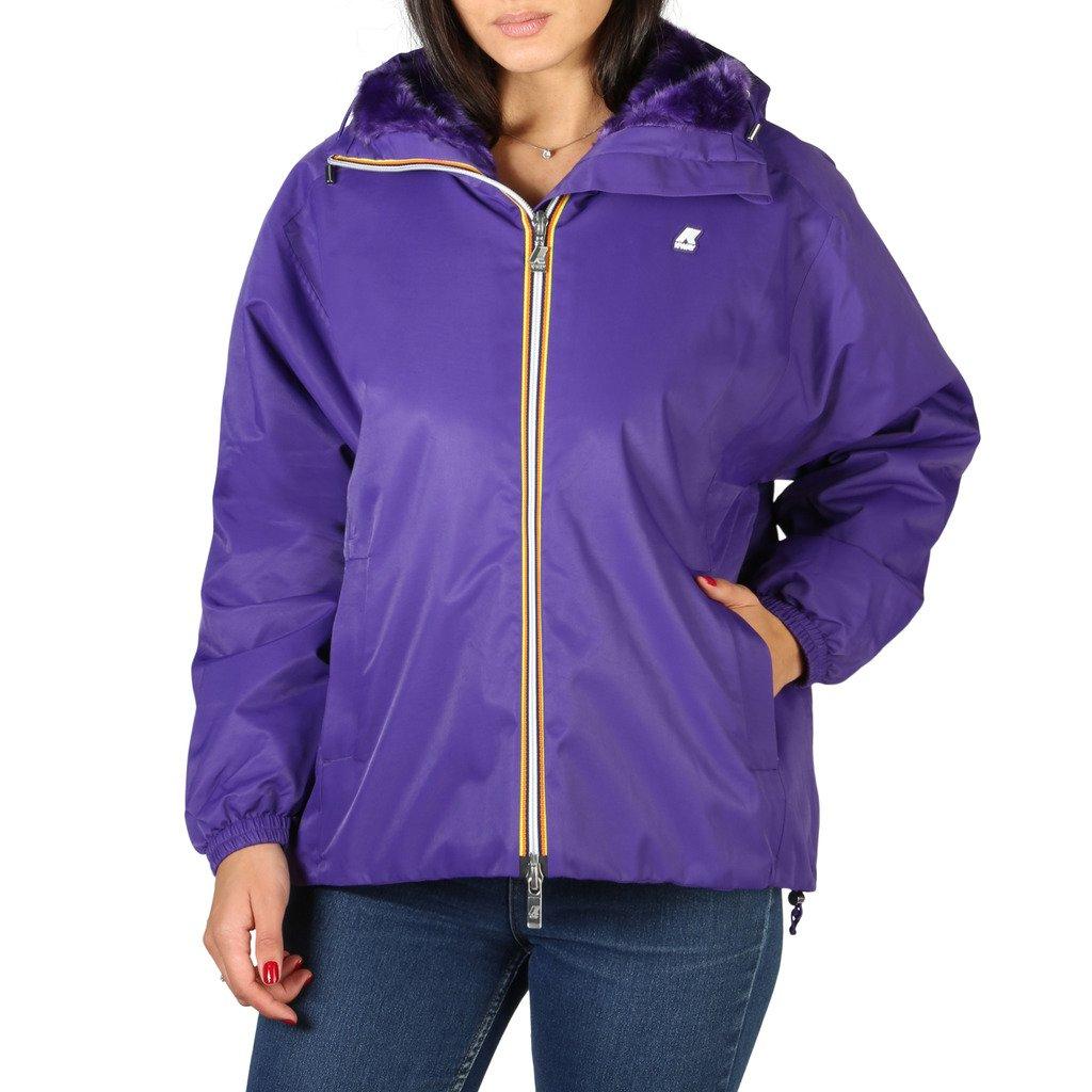 K-Way Women's Jacket Violet 322190 - violet 8