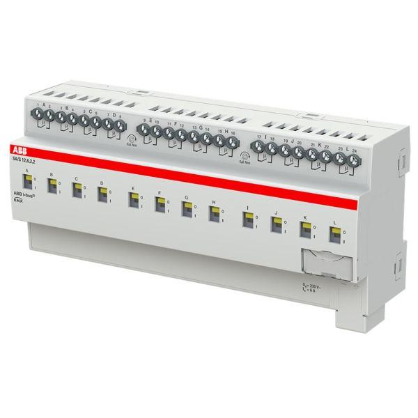 ABB 2CDG110256R0011 Tulo-/lähtöyksikkö KNX, 230 V, 6 A Kytkinliitäntöjen enimmäismäärä: 12
