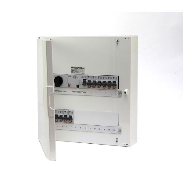 Garo NUML 28-2 Sentralapparat utenpåliggende, IP30 2 x 14 moduler