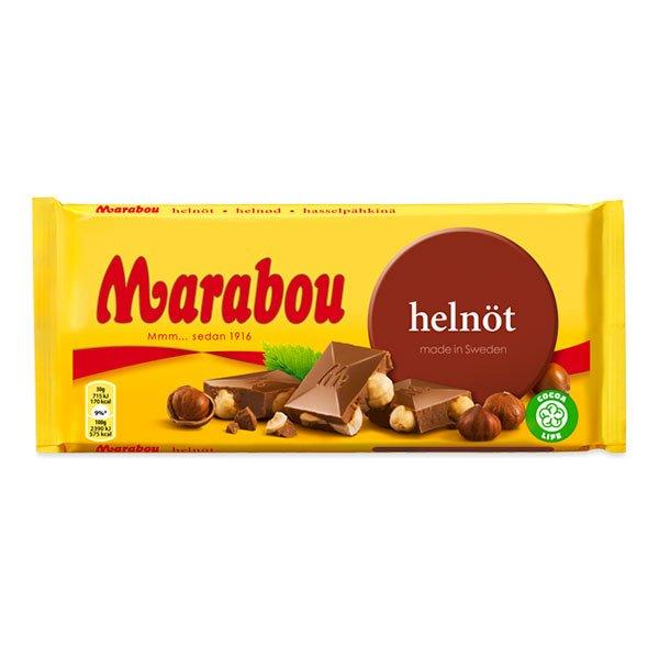 Marabou Helnöt Chokladkaka - 200 gram