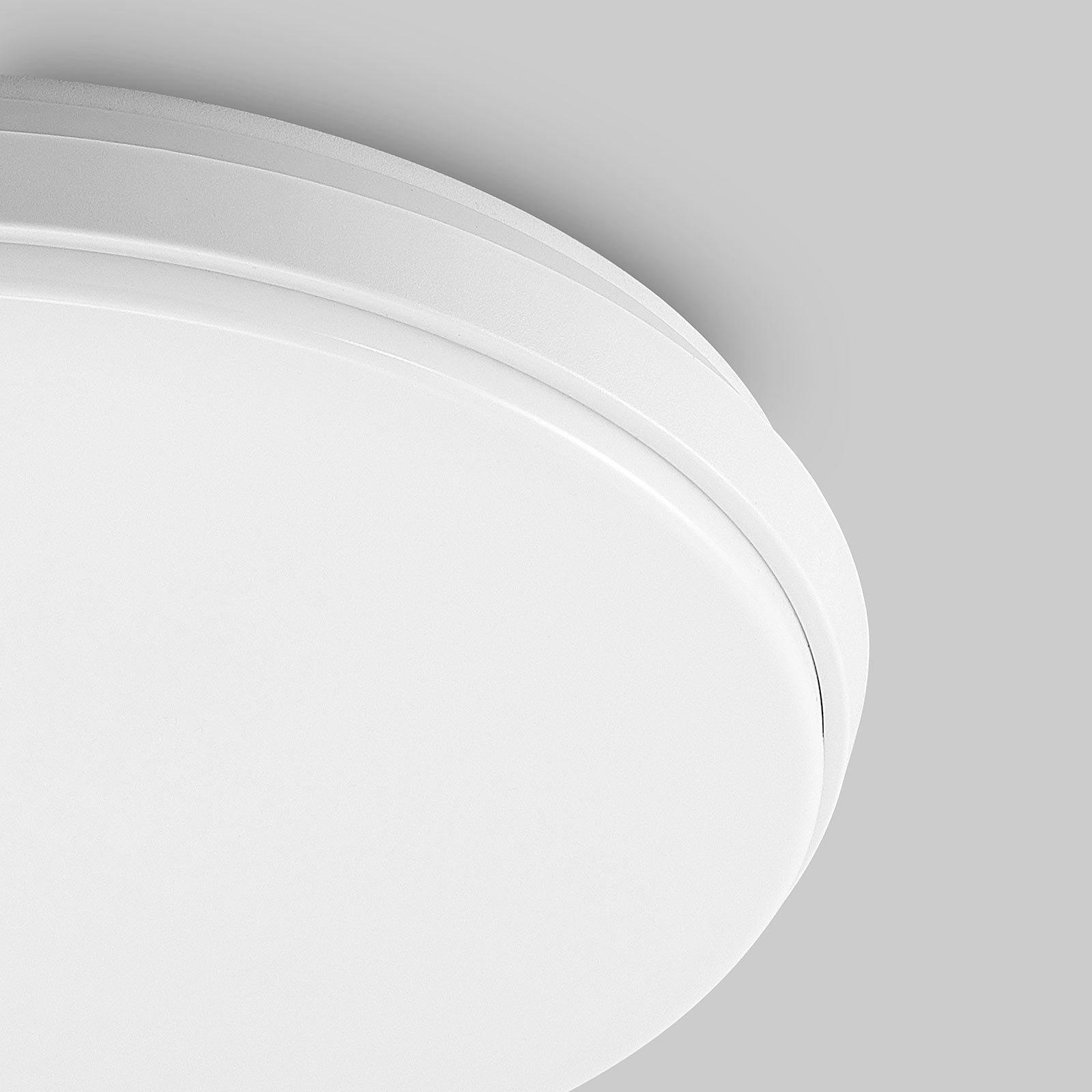 Arcchio Brady LED-taklampe, hvit, rund, 40 cm