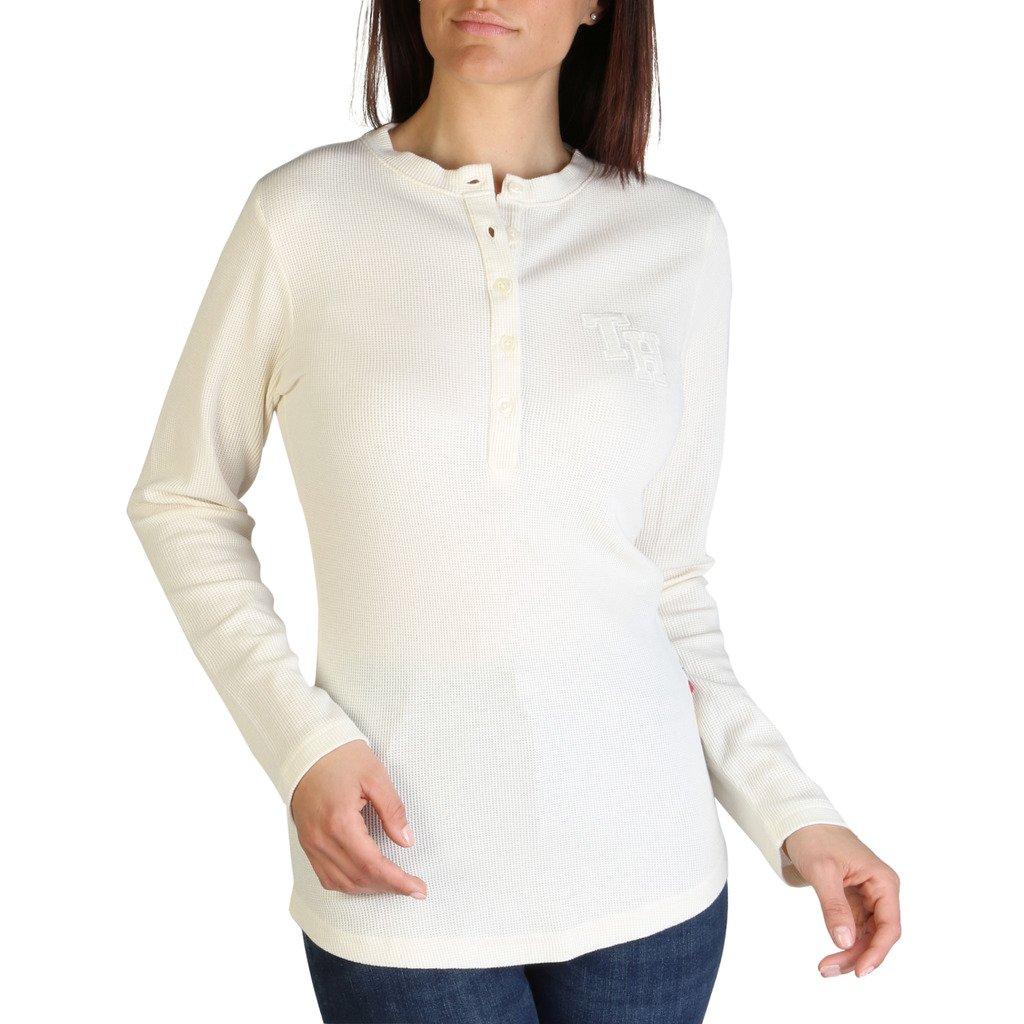 Tommy Hilfiger Women's Sweater White UW0UW01986 - white XS