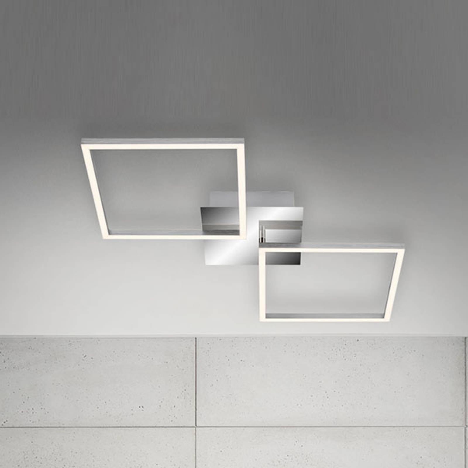 LED-kattovalaisin Frame, alumiini, 76 x 36 cm