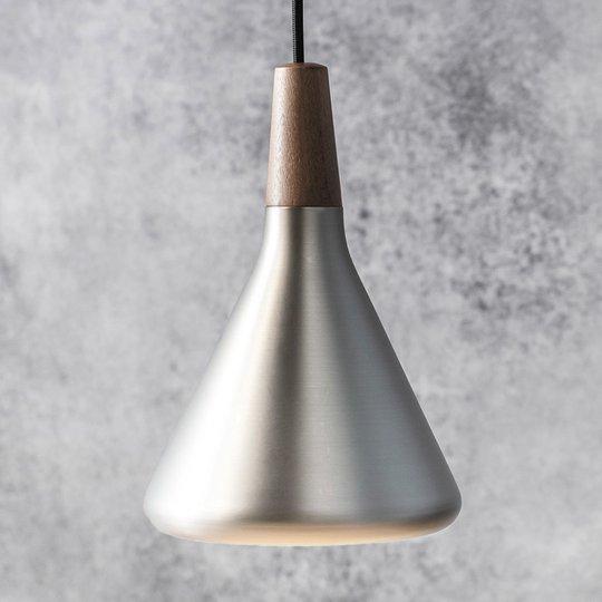 Metallinen riippuvalaisin Float 18 cm