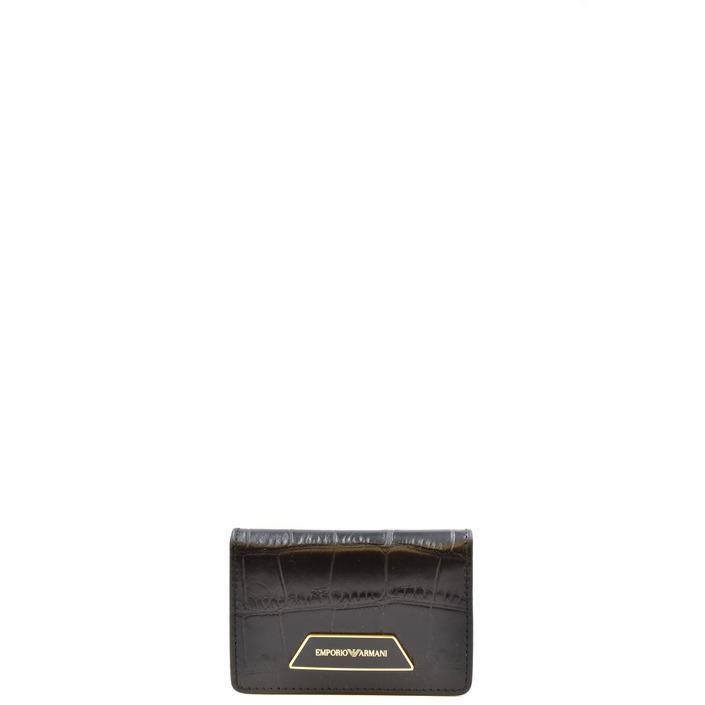 Emporio Armani Women's Wallet Black 315155 - black UNICA