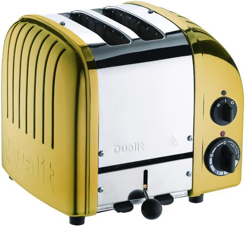 Dualit Classic Brass Brödrost - Gul