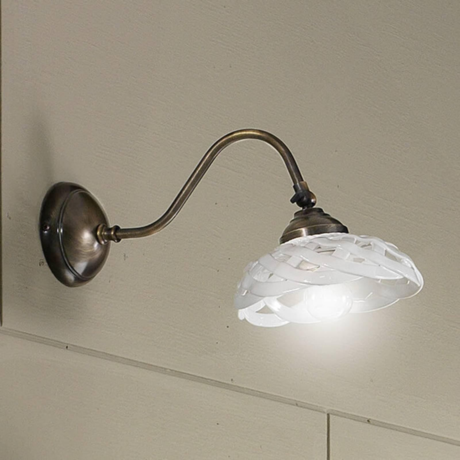 Vegglampe Emanuel keramikk utgående 33 cm