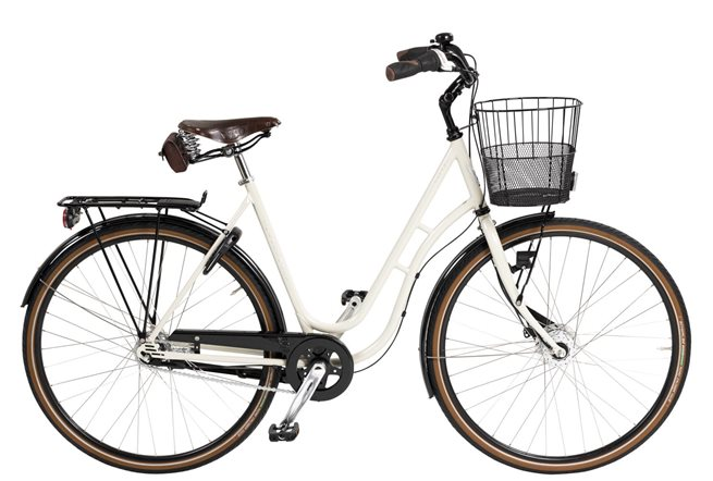 Skeppshult Dam Natur Premium 7-Växlad M Korg, Standardcykel