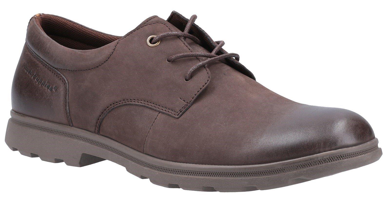 Hush Puppies Men's Trevor Lace Derby Shoe Various Colours 31243 - Brown 6
