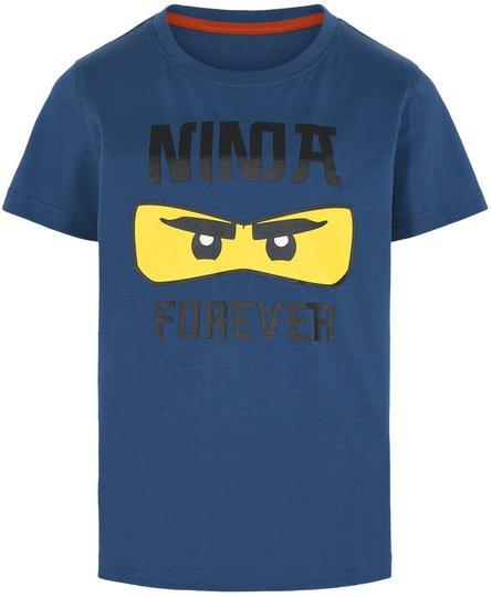 LEGO Collection T-shirt, Dark Dust Blue, 104