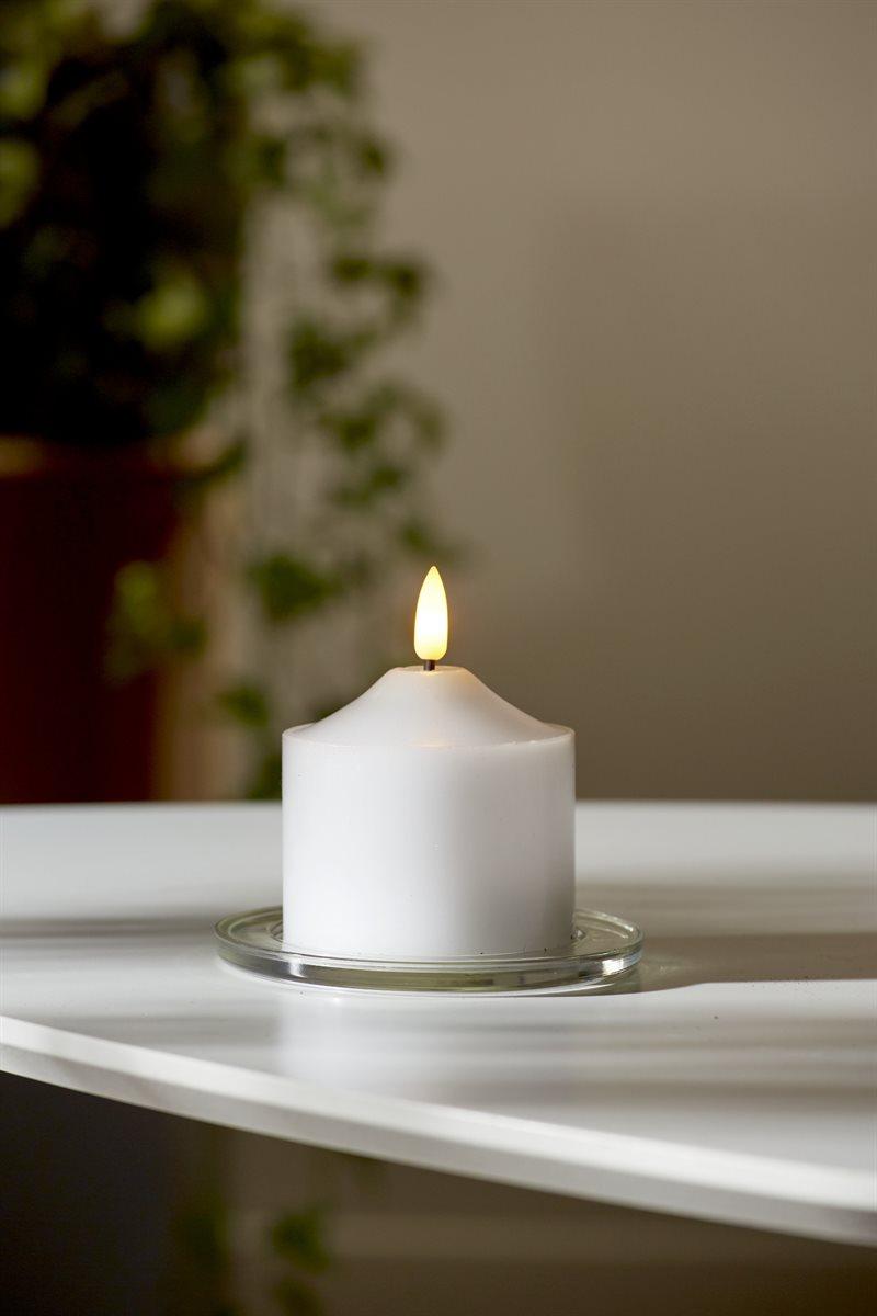 LED-pöytäkynttilä 7 cm Flamme