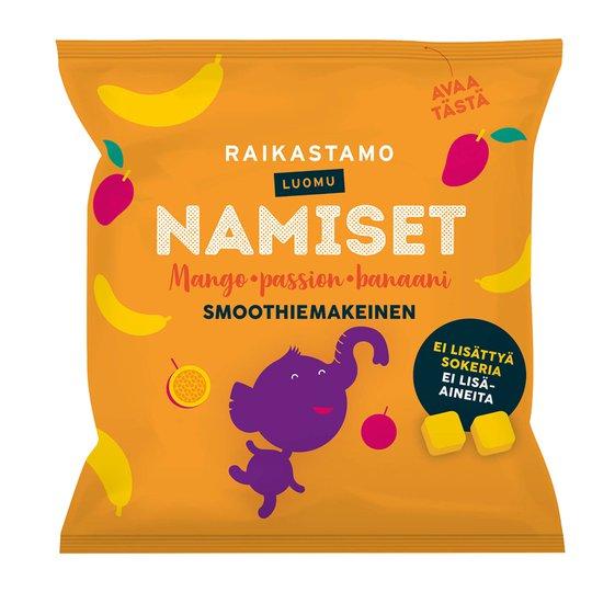 Smoothiemakeinen Mango Passion & Banaani - 19% alennus