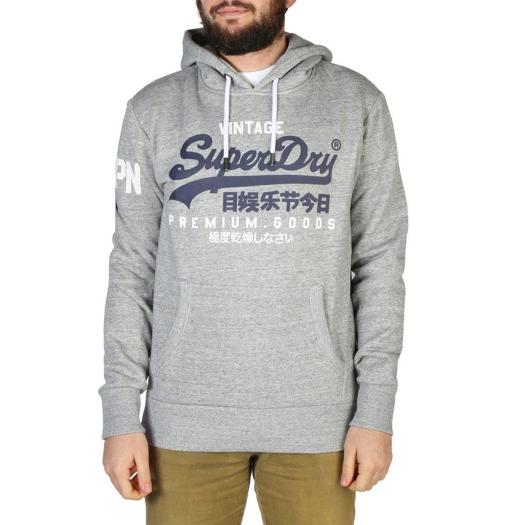 Superdry Men's Sweatshirt Grey M2010494A - grey S