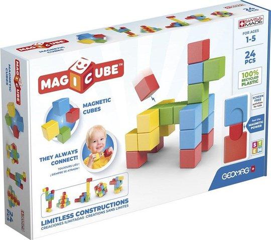 Geomag Byggesett Magicube Full Color Try Me 24