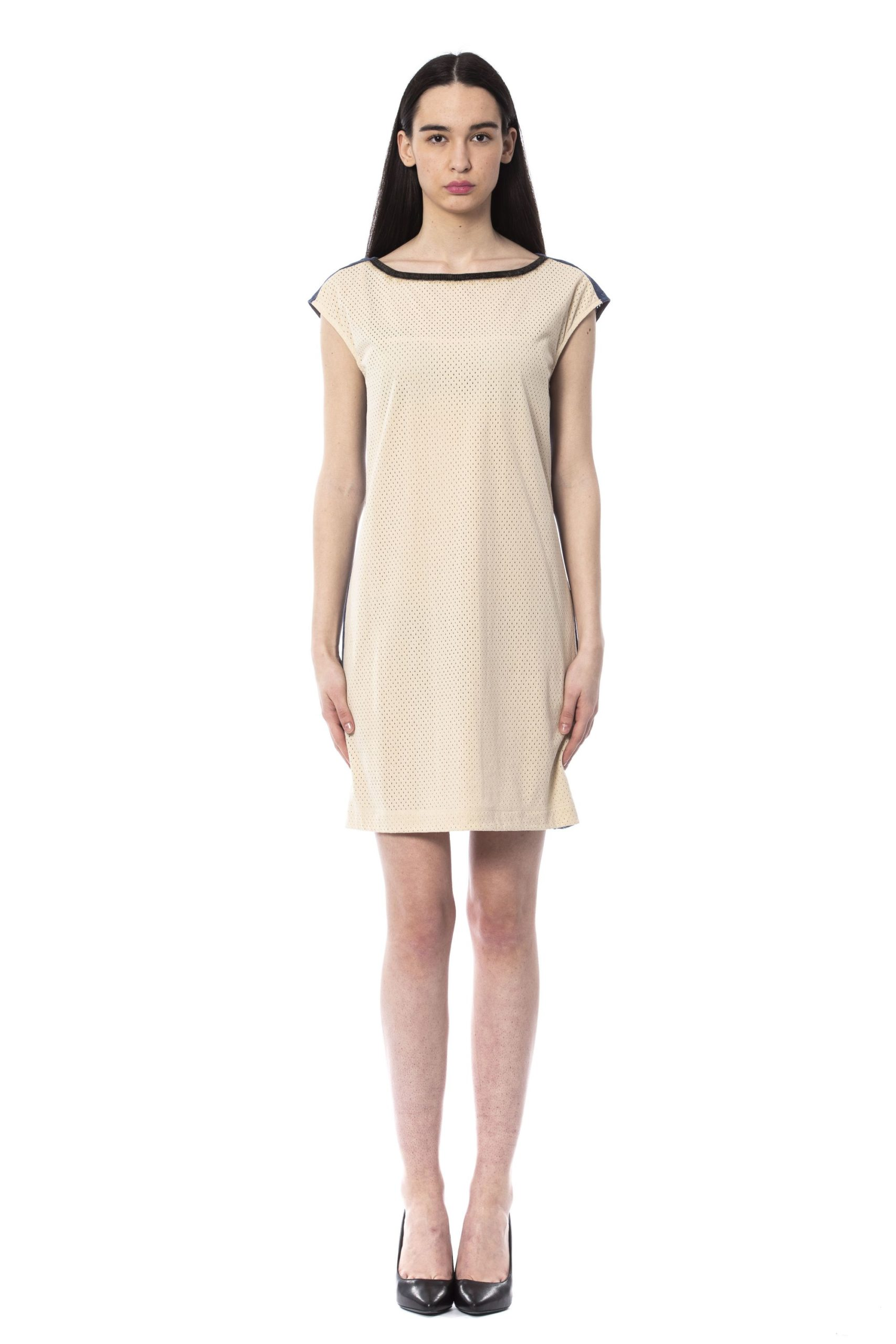 Byblos Women's Avorio Dress Beige BY994746 - IT40   XS