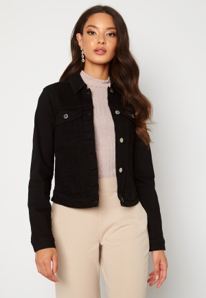 Happy Holly Elina denim jacket Black 42