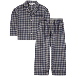 Bonpoint Dormeur Pyjamasset Marinblått 4 år
