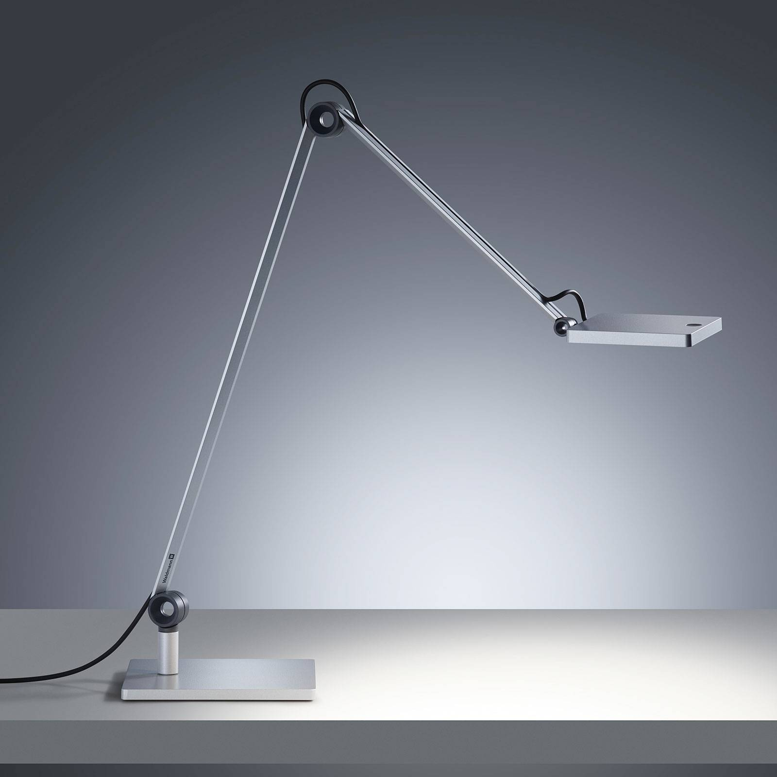 LED-pöytälamppu PARA.MI FTL 108 R hopea 930