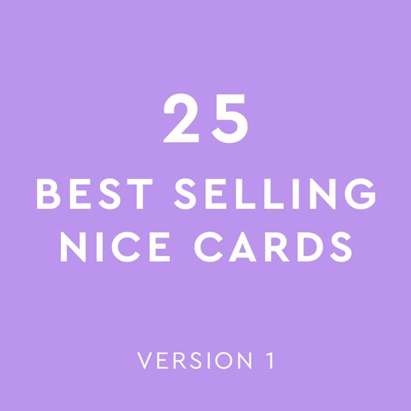 Best Selling Mix - Nice Cards Version 1