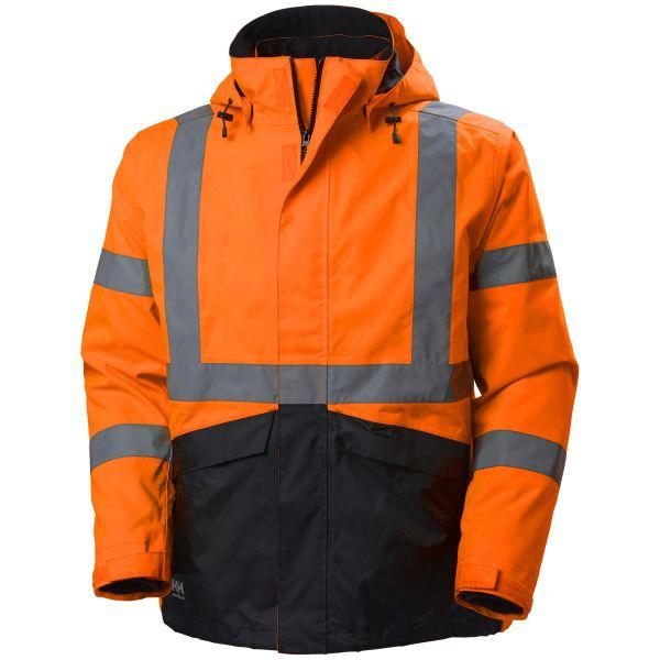 Helly Hansen Workwear Alta Jacka varsel, orange/svart S