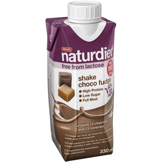 """Måltidsersättning Shake """"Choco Fudge"""" 330ml - 38% rabatt"""
