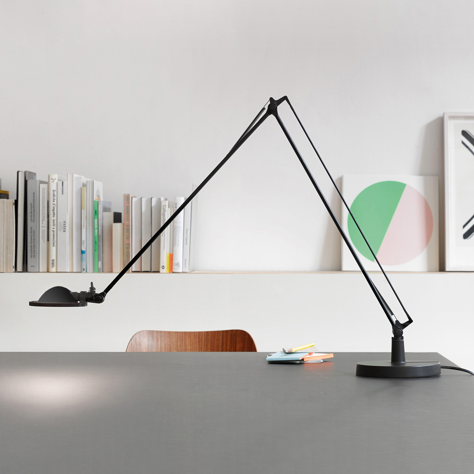 Luceplan Berenice 15 cm, musta, metalliheijastin