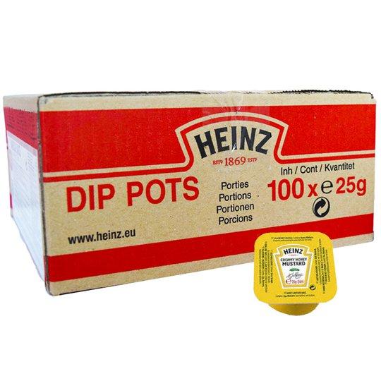 Hel Låda Dipsåser Honungssenap 100 x 25g - 69% rabatt