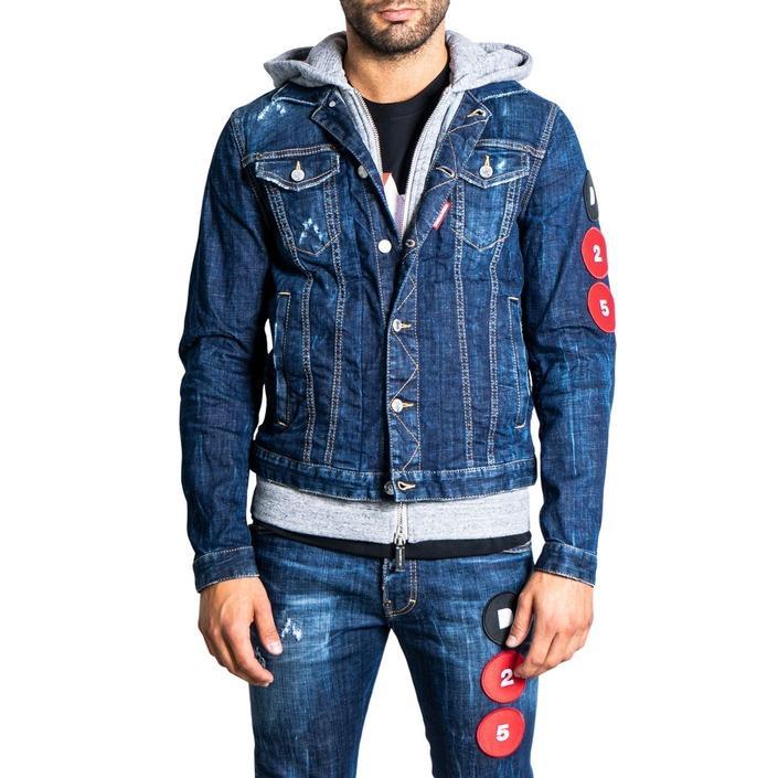 Dsquared2 - Dsquared2 Men Jacket - blue 44