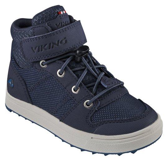 Viking Jakob Mid GTX Sneaker, Navy, 26