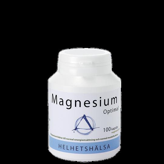 Magnesium Optimal, 125 mg, 100 kapslar