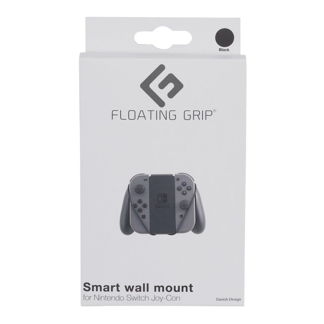 Floating Grip Nintendo Switch Joy-Con Wall Mount Black/Grey