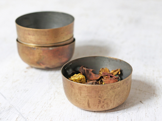 Brass Bowl (Large) Gold