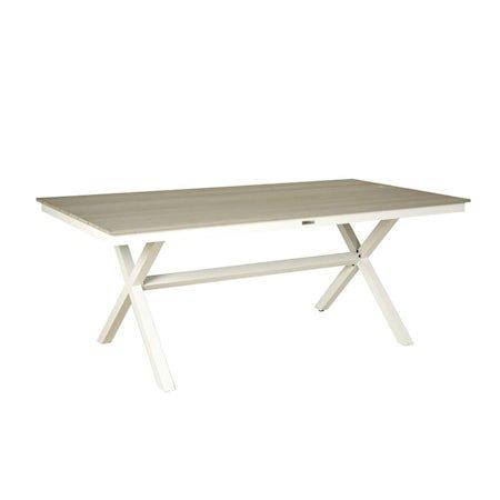 Stokke Spisebord - Hvit