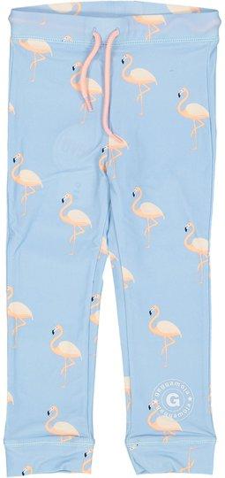 Geggamoja UV-Langbukse Flamingo, Blå 98-104