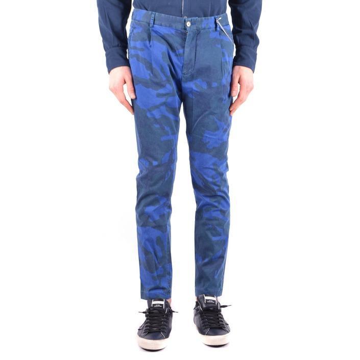 Daniele Alessandrini Men's Trouser Blue 162954 - blue 46